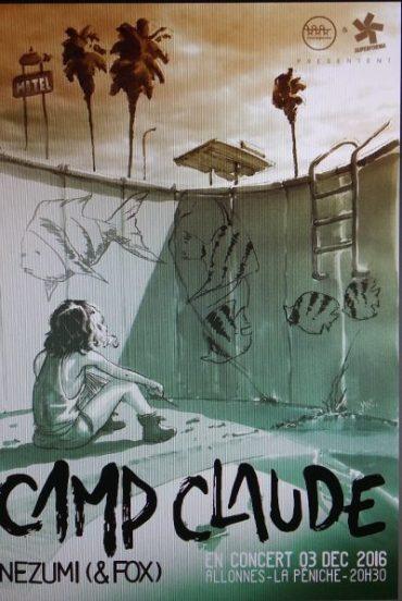 Camp -Caude concert