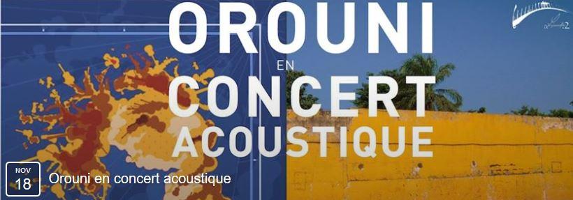 Orouni concert Paris