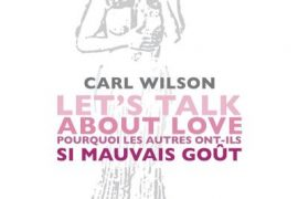 Carl Wilson - Let's Talk About Love