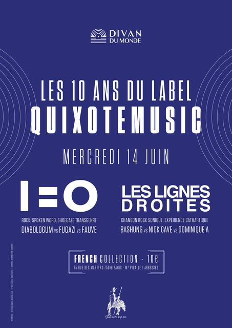 10 ans Quixote Music