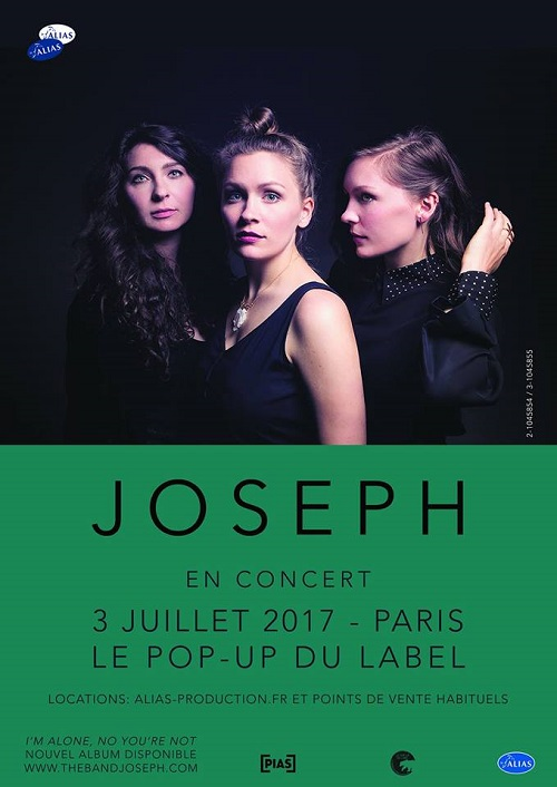 Joseph au Pop Up du Label