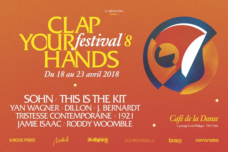 Festival Clap Your Hands 2018 - du 18 au 23 avril - Paris