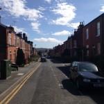 Une rue de Macclesfields