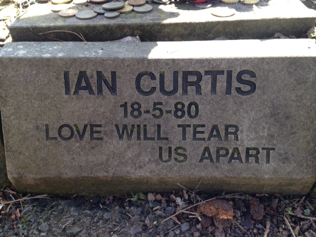 La tombe de Ian Curtis