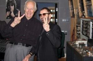 George Martin et Ringo Starr