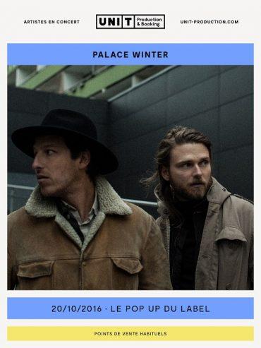 [Concours] – Palace Winter au Pop-Up du Label – 4 places à gagner