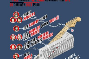 concert privé Lee Ranaldo + Magik Markers + Theo Hakola