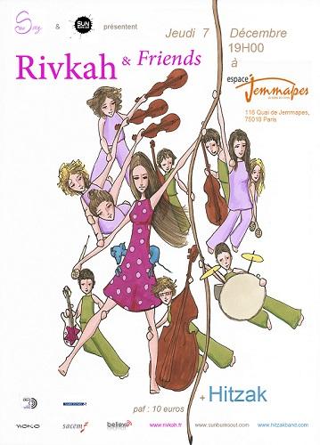 rivkah concert décembre 2017