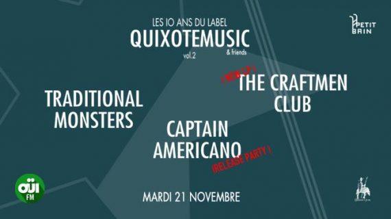Quixotemusic 10 ans label