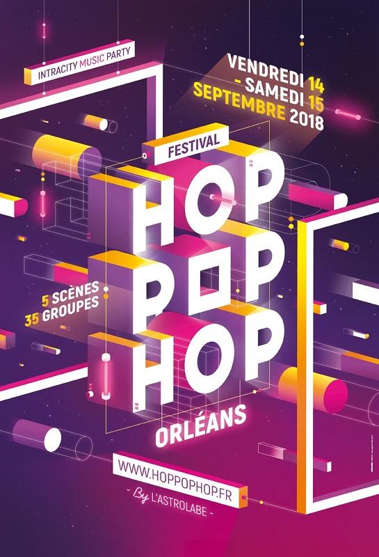 Hop Pop Hop 2018 – 14 et 15 septembre – Orléans
