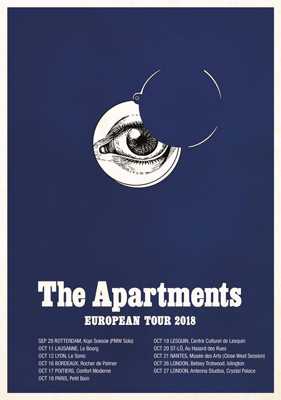 poster The Apartments tour 2018