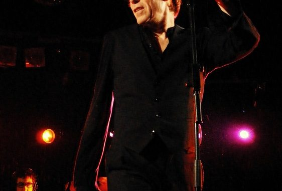 Richard Butler de The Psychedelic Furs live in Manchester 2010
