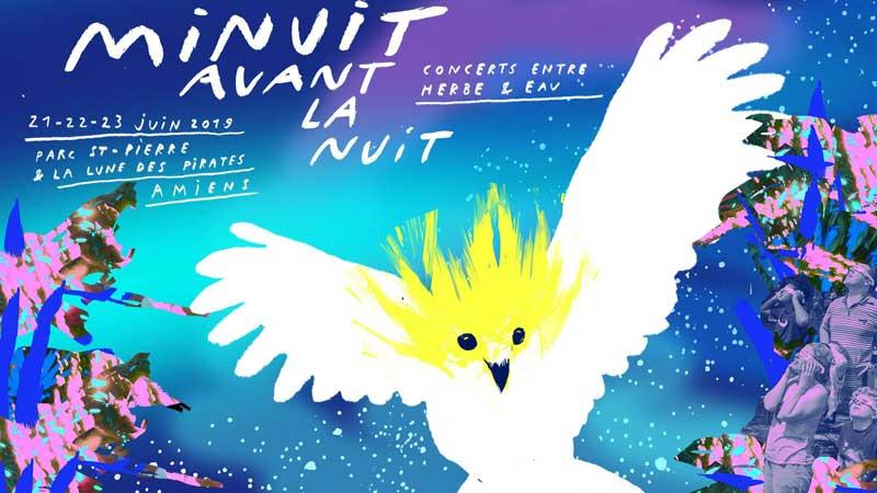 Festival Minuit avant la Nuit 2019 - du 21 au 23 juin - Amiens (80)