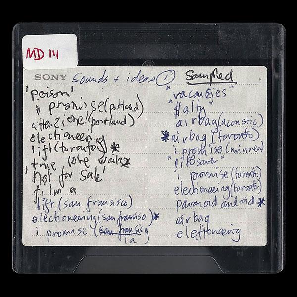 Radiohead mini discs
