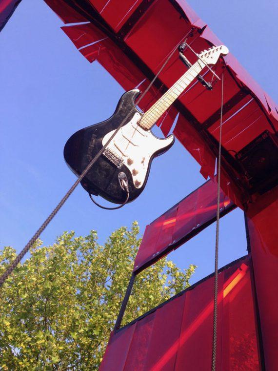 La Ferme électrique - Guitare