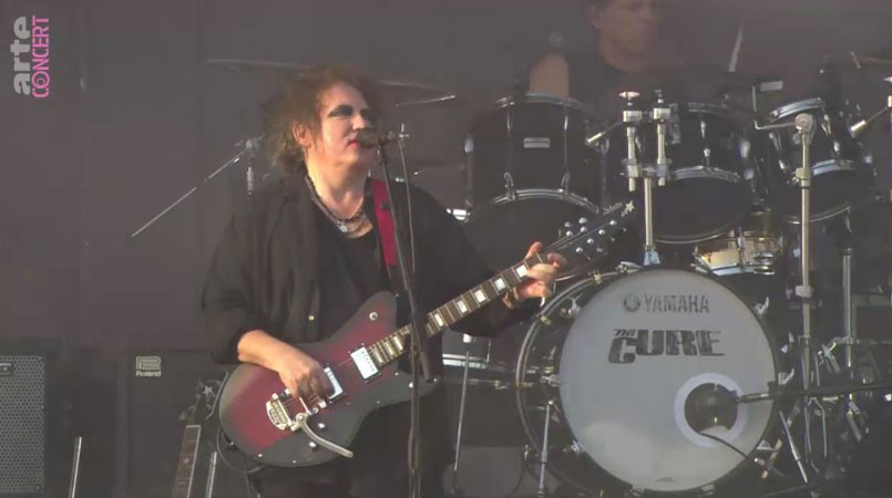 The Cure au Hurricane Festival 2019
