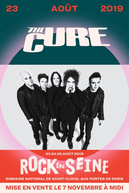 The Cure Rock en Seine 2019