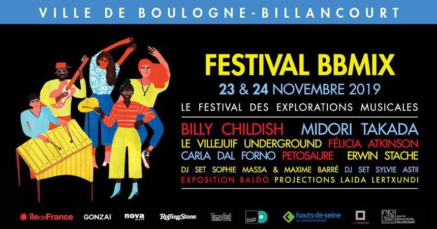 Festival BBmix 2019 - 23 au 24 novembre - Boulogne-Billancourt