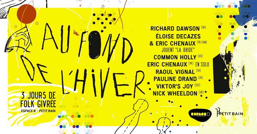 Au Fond De l'Hiver 2020 - 22 et 23 janvier et 08 février - Paris
