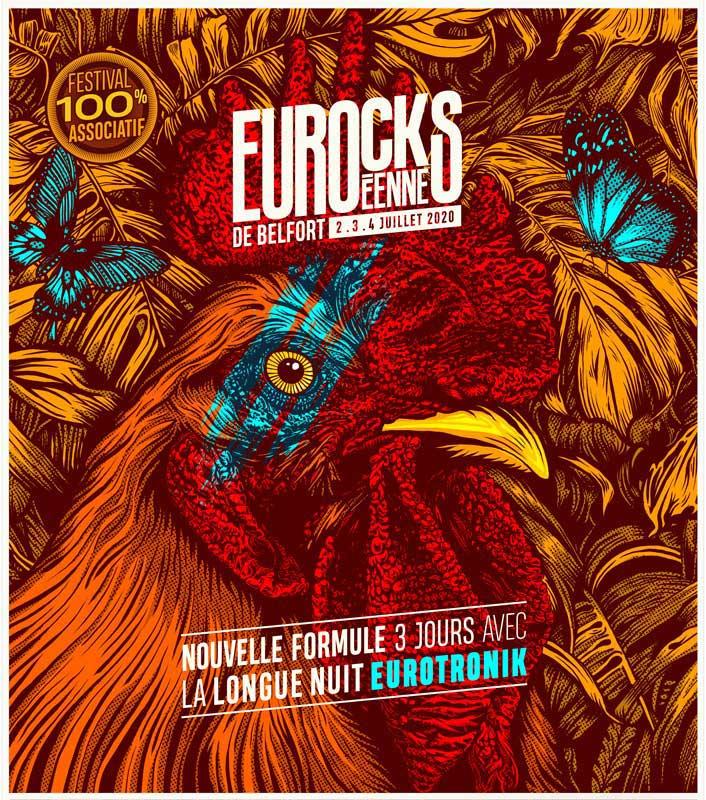 Les Eurockéennes 2020 – 02, 03 et 04 juillet – Belfort