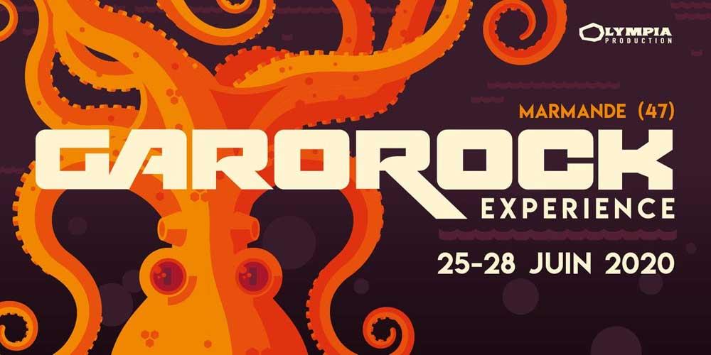 Garorock 2020 - du 25 au 28 juin - Plaine de la Filhole (Marmande, 47)