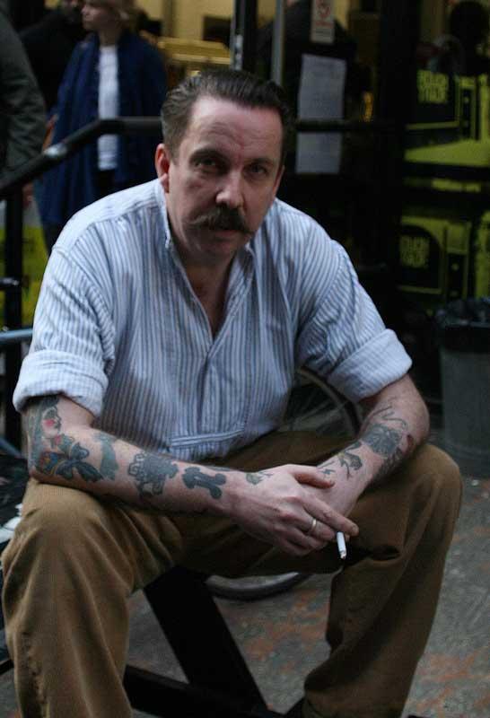Andrew Weatherall par Tom McShane