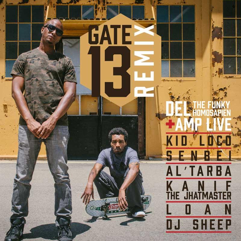 Del The Funky Homosapien & Amp Live - Gate 13 Remix