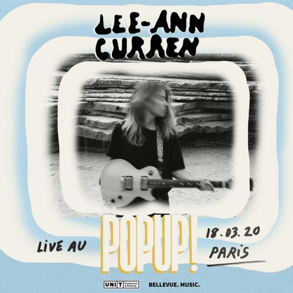 Lee-Ann Curren Pop Up! Mars 2020