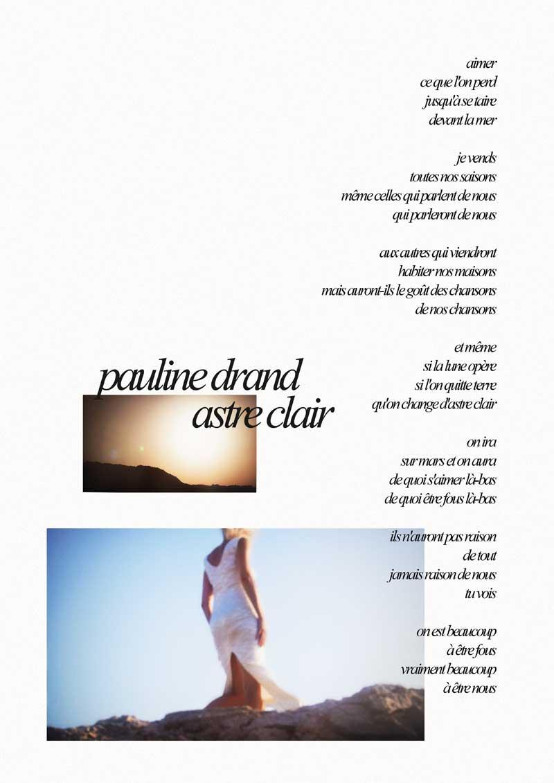 Pauline Drand - Astre Clair