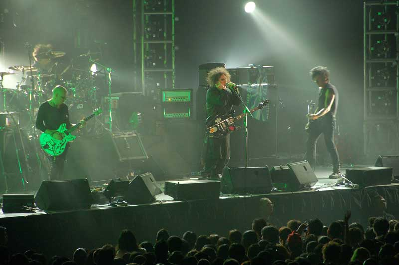 The Cure Août 2007