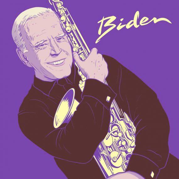Dombrance - Biden par Olivier Laude