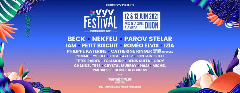 VYV Festival 2021 - 12 & 13 juin - Dijon